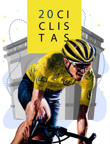 Atxarre Tour 20 ciclistas