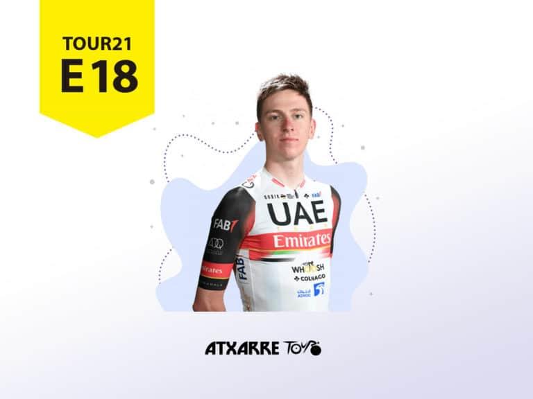 """Atxarre Tour - """"Pogi"""" sube lanzado en Luz Ardiden y repite maillots y victorias de etapa de 2020"""