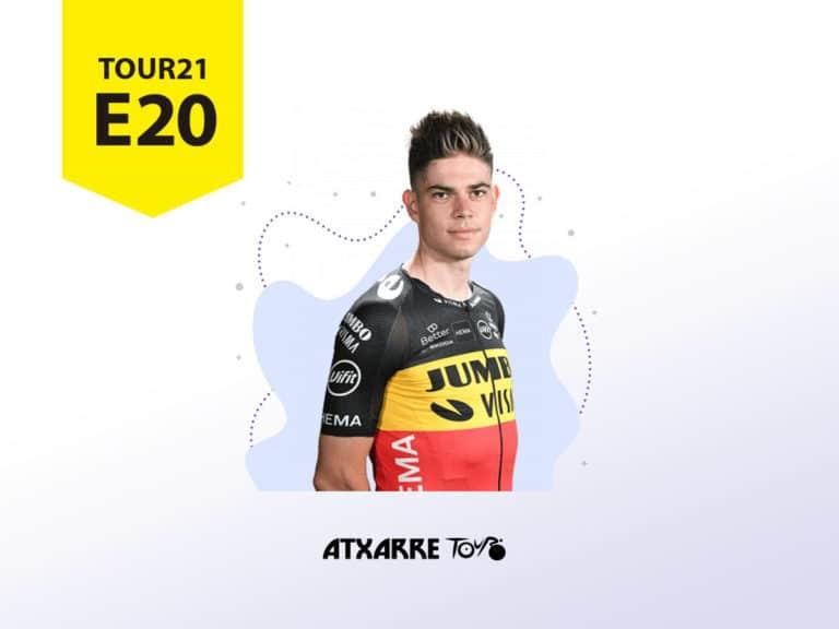 Atxarre Tour - Un obstinado Van Aert se lleva la segunda crono del Tour y Pogacar conserva el amarillo antes de entrar en París
