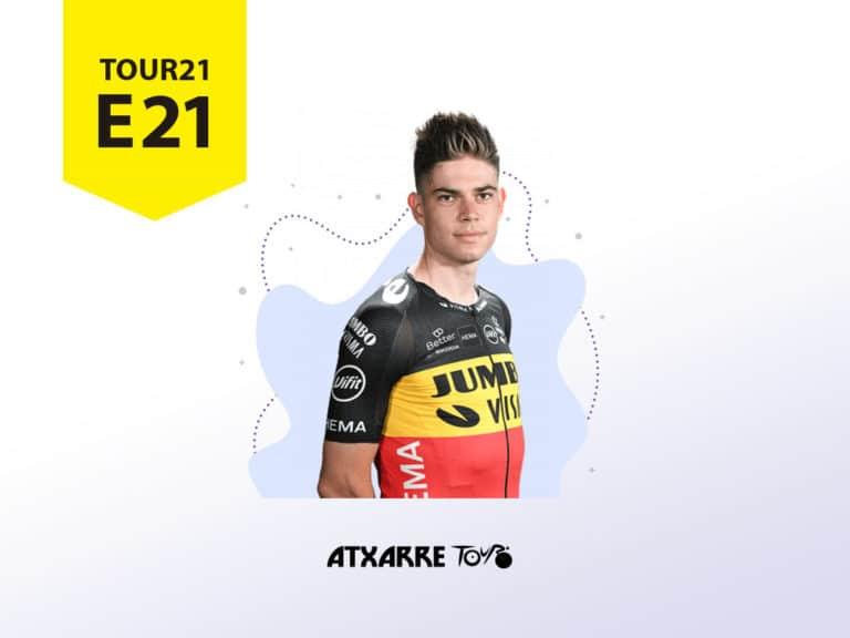 Atxarre Tour - El todoterreno Van Aert priva del récord a Cavendish y Pogacar logra su segundo Tour de France
